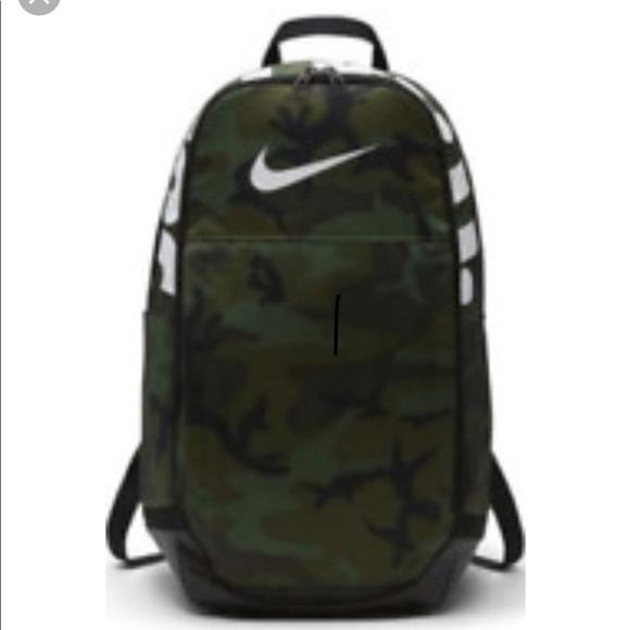 Nike Bags   2018 Brasilia Xl Backpack Camo Green Unisex   Poshmark 9efcf0c2a0